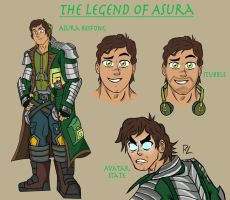 Avatar Asura Beifong by Primal-Lord