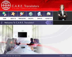 A layout for CARE Translation. by umer2001
