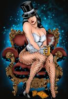Zatanna Colored by likwidlead