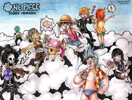 ONE PIECE Fly High by Captain--Ruffy