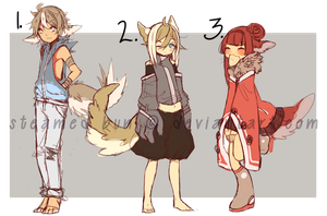 Attic Adopts: Batch 1 (ENDED) by Steamed-Bun