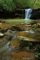 Marsh Fork Falls Feb 08 by TRBPhotographyLLC