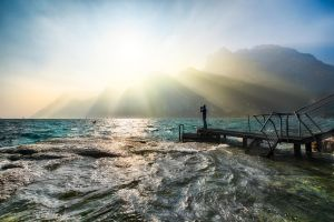 Lake Garda, surreal by alierturk