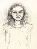 A little portrait of a little girl by ALEXAst