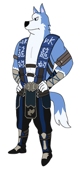 Exile As Sub-Zero by T-Shadow-Dragon