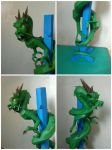 Fully Colored Dragon Papercraft by DannyNvrr