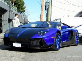 Blue on Black by SeanTheCarSpotter