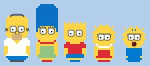 CHIBI--Simpsons by kanitted