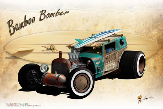 Bamboo Bomber by burningman