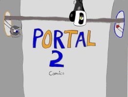 The beginning of my Portal 2 comics by Weevmo