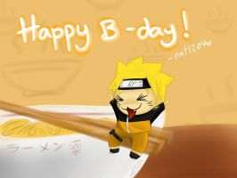 HBD Naruto Kun by net1204
