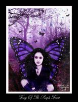 +Fairy+Of+The+Purple+Forest+ by DaMeToD
