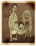 Ragger Family Portrait by Speedvore