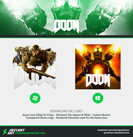 DOOM - Icon + Media by Crussong