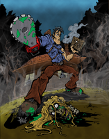 Evil Dead (Colors) by villithorne