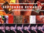 PATREON SEPTEMBER REWARDS PREVIEW by Teryster