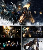 Dungeon Siege III PS3 Theme by Oxhine