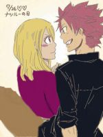 NaLu - What are you looking at? by EllieBimbo