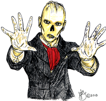 Doug Jones Phantom by michi-no