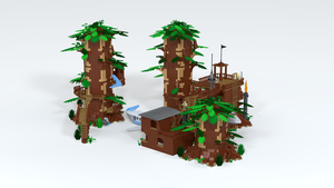 Modular Forrest Detail 11 by CptRick