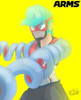 SPRING MAN (from ARMS) by Maskian