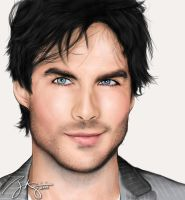 Ian Somerhalder by zylimpin