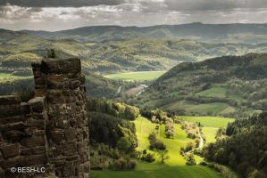 View from castle Hanstein by BESH-LC