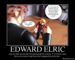 Edward Elric money motivational poster by Miss-Sweetlivvy