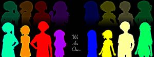 We Are One... by eileenmh123