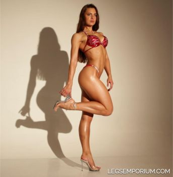 LegsEmporium Oksana Sexy Woman Sexy Shadow by LegsEmporium