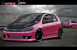Vw Golf VI Spinodza plus rear by LEEL00
