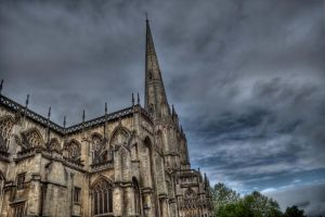 St Mary Redcliffe in Bristol by JimPMM