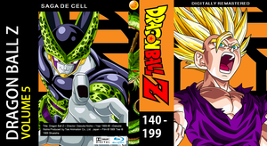 Dragon Ball Z Blu-ray cover Volume 5 by PhysicsAndMore