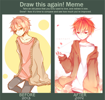 before/after meme by ruichou