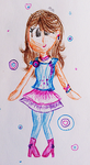 Dotted Dancer by TheLivingDictionary