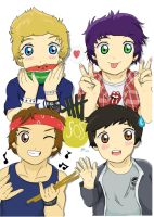 5 Seconds of Summer 2015 by OneDirectionFanJohn