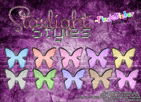+Starlight Styles By FixABieber [GIVINGBACK] by FixABieber
