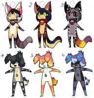 Name Your Price Adoptable Batch by Xx-AnickJukebox-xX
