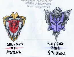 Transformers: Medieval AU - Royal Crests(Refined) by Mystic2760