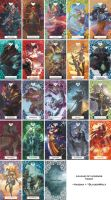 League Tarot by Haebak