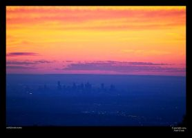 Melbourne Sunset 1 by neilcreek