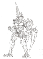 Savagebolt old concept sketch by big-black-and-scary