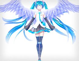 .: angel :. by sailor-rice