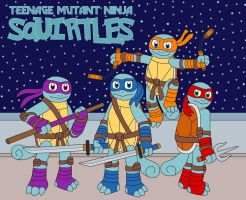 Teenage Mutant Ninja Squirtles by MCsaurus