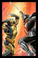 Wolverine Origins 42 p.16C by BillReinhold