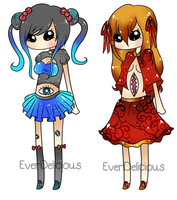 :adoptables: FP, Part D {EverDelicious Collab} by Yeleena