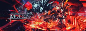 Facebook Timeline Cover - Metal Gunz by kyonjptolentino