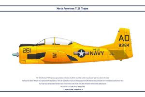 T-28 USA VF-21 by WS-Clave