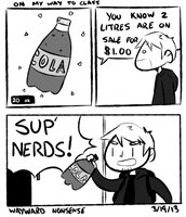 Cola Size Nonsense by WaywardDoodles
