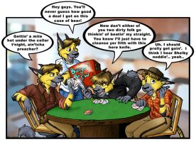 Poker Night by keikittora